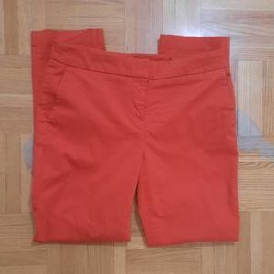 BOGO Red ankle length straight leg pants